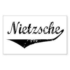 Nietzsche Rectangle Decal