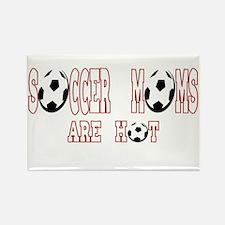 soccer moms are hot Rectangle Magnet
