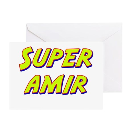 Super amir Greeting Cards (Pk of 20)