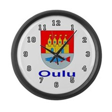 Oulu Large Wall Clock