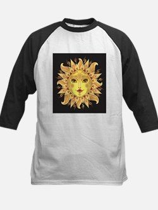 Stylish Sun Kids Baseball Jersey