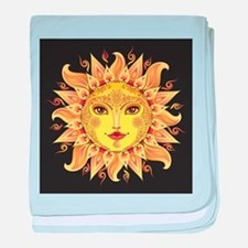 Stylish Sun baby blanket