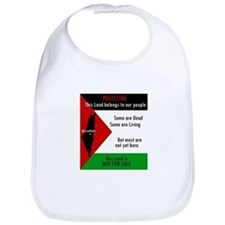 Palestine green black white a Bib