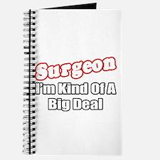 """Surgeon...Big Deal"" Journal"
