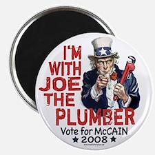Joe the Plumber 4 McCain Magnet