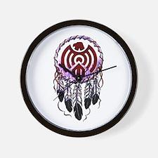 Native American Dreamcatcher Wall Clock