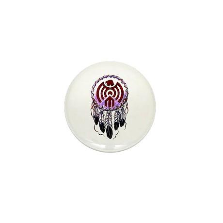 Native American Dreamcatcher Mini Button