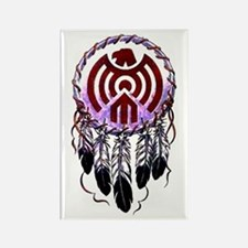 Native American Dreamcatcher Rectangle Magnet
