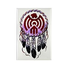 Native American Dreamcatcher Rectangle Magnet (10