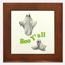 BOO Y'ALL Framed Tile