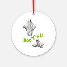 BOO Y'ALL Ornament (Round)
