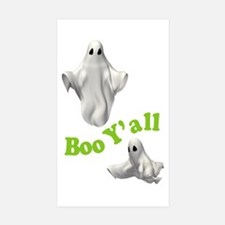 BOO Y'ALL Rectangle Sticker 50 pk)