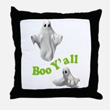 BOO Y'ALL Throw Pillow