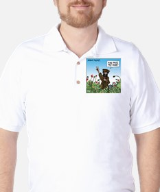 Afghan Pacifist Golf Shirt
