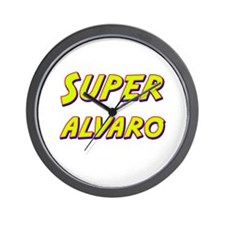 Super alvaro Wall Clock