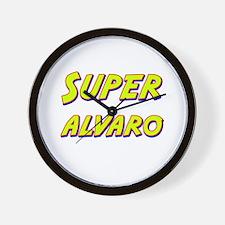 Super alvaro Wall Clock