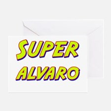 Super alvaro Greeting Card