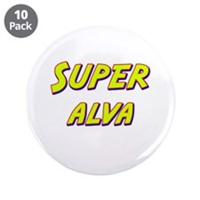 "Super alva 3.5"" Button (10 pack)"