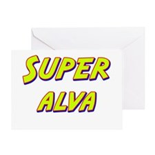 Super alva Greeting Card