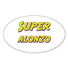 Super alonzo Oval Decal