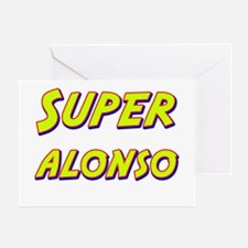 Super alonso Greeting Card