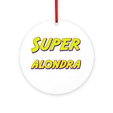 Super alondra Ornament (Round)