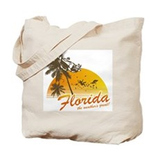 Visit Florida: The Weather's Tote Bag