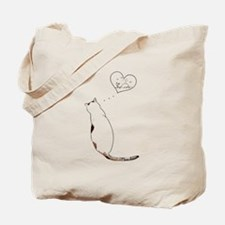 kitty dream Tote Bag