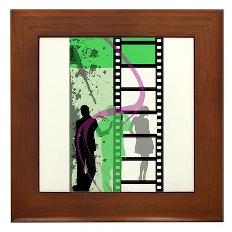 Movie Maker Framed Tile