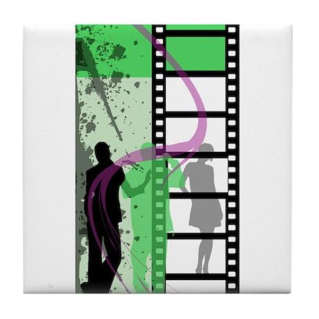 Movie Maker Tile Coaster
