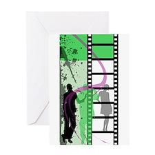 Movie Maker Greeting Card