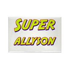 Super allyson Rectangle Magnet