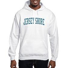 Jersey Shore New Jersey NJ Blue Hoodie Sweatshirt