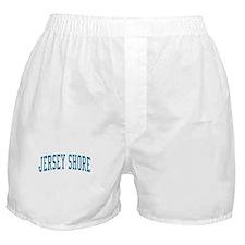 Jersey Shore New Jersey NJ Blue Boxer Shorts