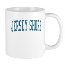 Jersey Shore New Jersey NJ Blue Mug