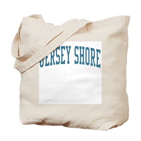 Jersey Shore New Jersey NJ Blue Tote Bag