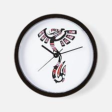 Native American Art Symbol Wall Clock