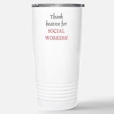 Thank Heaven SW BRT Stainless Steel Travel Mug