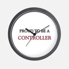 Proud to be a Controller Wall Clock