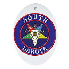 Order of the Eastern Star of South Dakota Ornament
