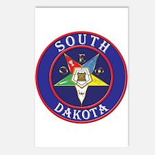 Order of the Eastern Star of South Dakota Postcard