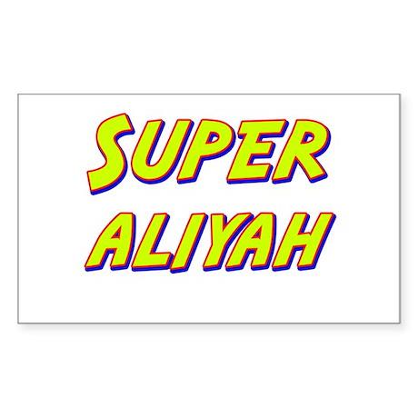 Super aliyah Rectangle Sticker