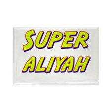 Super aliyah Rectangle Magnet