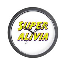 Super alivia Wall Clock