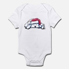Exhausted Holiday Westies Infant Bodysuit