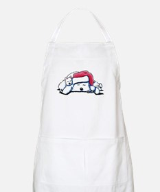 Exhausted Holiday Westies BBQ Apron