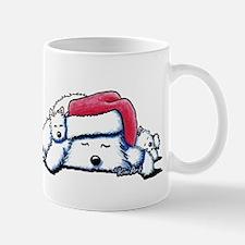 Exhausted Holiday Westies Mug