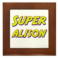 Super alison Framed Tile