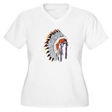 Indian Chief Headdress T-Shirt