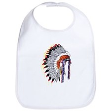 Indian Chief Headdress Bib